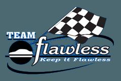 flawless auto body logo